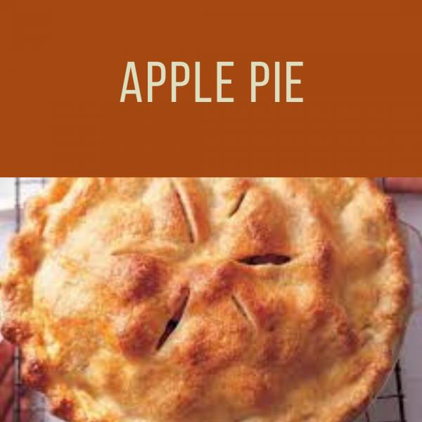 Thanksgiving Apple Pie To Go