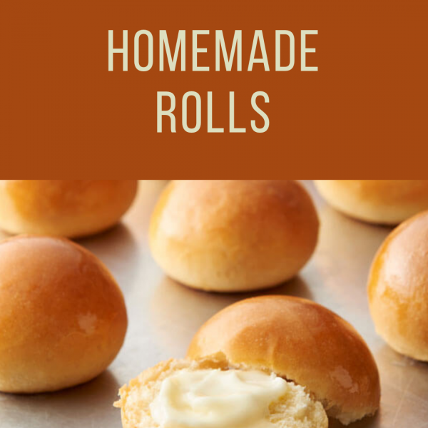 Thanksgiving Homemade Rolls To Go