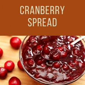 Thanksgiving Cranberry Spread To Go