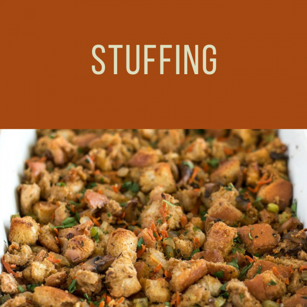 Thanksgiving Stuffing To Go