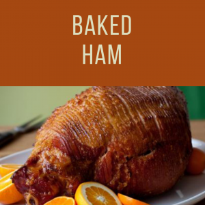 Thanksgiving Baked Ham To Go