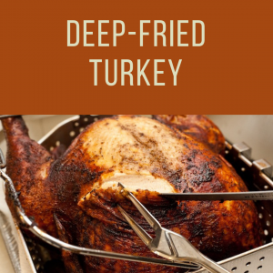 Thanksgiving Deep Fried Turkey To Go