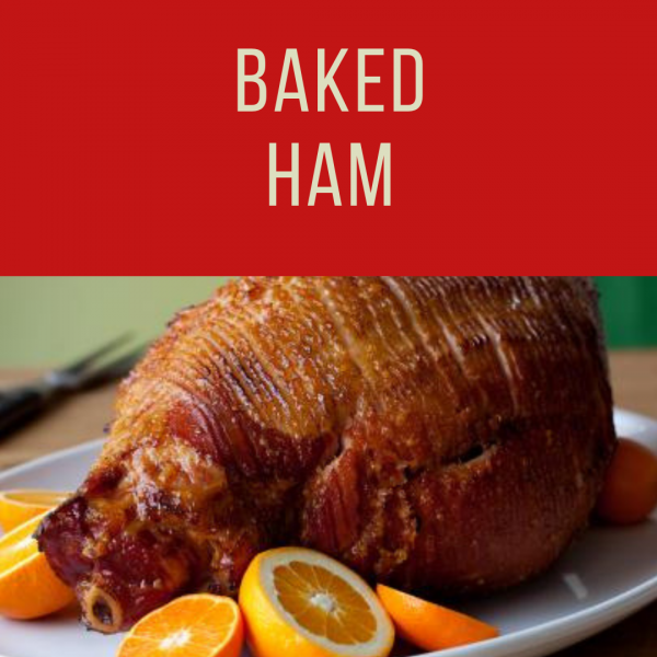 Fatmans- Christmas Catering- Baked Ham