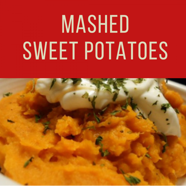 Fatmans- Christmas Catering- Mashed Sweet Potatoes