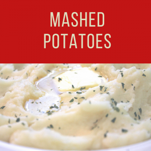 Fatmans- Christmas Catering- Mashed Potatoes