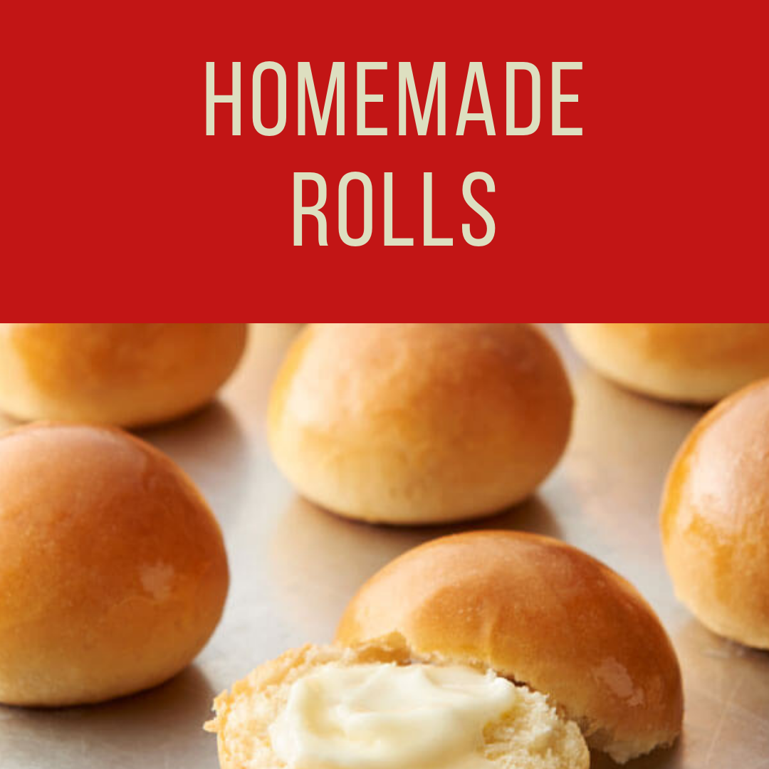 Fatmans- Christmas Catering- Homemade Rolls