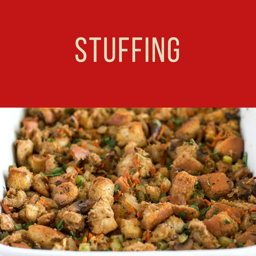 Fatmans- Christmas Catering- Stuffing